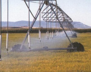 center pivot sprinkler system