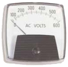 center Pivot voltage meter