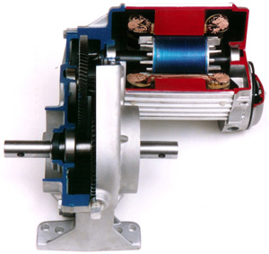 Durst helical center drive gearmotor