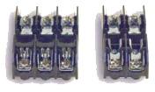 2-pole and 3-pole fuse holders