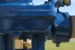 booster pump to optimize end gun