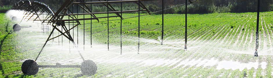 center pivot and linear irrigation equipment