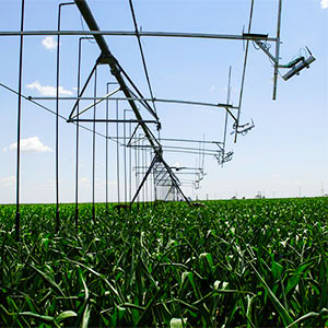 smart irrigation with Pivot systems